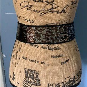 Vintage Christian Dior Ceintures Beaded Belt